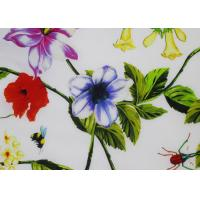 Wholesale Shrink Resistant Silk Crepe Fabric 12 Mm , Italian Printed Silk Scarf Woven from china suppliers