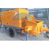 Wholesale 39 Kw Diesel Motor Small Concrete Pump , Diesel Lightweight Concrete Mixer Pump from china suppliers