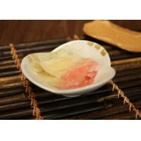 Wholesale Thin Slice Seasoned Japanese Pickled Ginger for Sushi Sweet and Tender Flavor from china suppliers