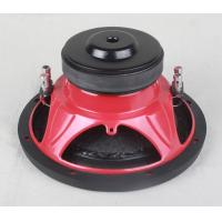 China 2 Ohm 10 Inch High End Car Subwoofers 500 Watt Car Speakers Customized Design on sale