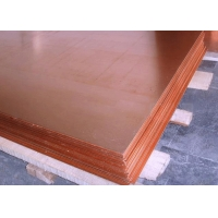 China 2440mm Width Hot Rolled ASTM B152 Copper Sheet Plate on sale