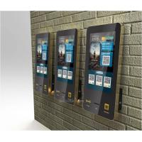 Buy cheap 32 Inch Wall Mounted Touch Screen Kiosk Self Ordering Indoor For Fast Service from wholesalers