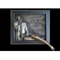 Wholesale Decorative Sexy Woman Statue , Art Work Bronze Charismatic Relief 150*150cm from china suppliers