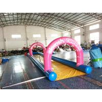 Wholesale Air Sealed Mini Inflatable Slide For Backyard , Inflatable Water Slide For Kids from china suppliers