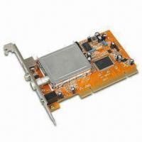 Wholesale TV Tuner Card with Noise Reduction Function and Full Motion Video Capture up to 30fps from china suppliers