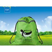 Personalized Advertising Drawstring Backpack W35*H47Cm Silk-Screen Printing