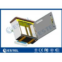 Wholesale Single Layer Pole Mount Enclosure , SPCC Galvanized Steel Outdoor Electronics Cabinet from china suppliers