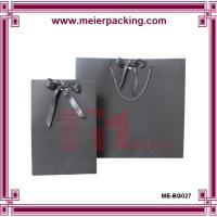 Wholesale Custom high end gift paper bags/Luxury design suit packaging paper bags for wholesale ME-BG027 from china suppliers