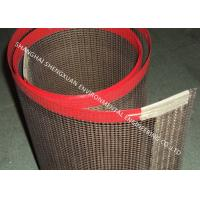 Wholesale Anti - Static PTFE Mesh Conveyor Belt 4mm * 4mm Mesh Size With Strong Wear Resistance from china suppliers