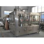 China Orange Juice Machine Liquid Juice Filling Machine For Glass Bottle / PET Bottle for sale