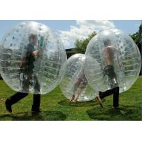 Wholesale Human Outdoor Inflatable Toys soccer Bubble Ball / Buddy Bumper Ball from china suppliers