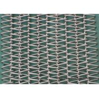 Wholesale Balanced Spiral Woven SS Conveyor Belt Abrasion Resistance High Precision from china suppliers