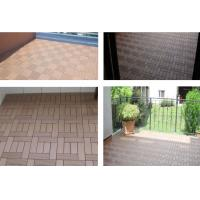 China WPC Composite DIY Decking Flooring Tile 30x30 cm  High Quality Interlocking outdoor deck tiles/WPC DIY Floor on sale
