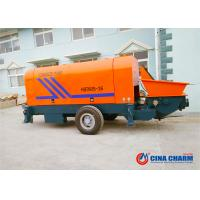 China 80m3 / H Portable Concrete Pump , High Efficiency Concrete Pumping Equipment on sale