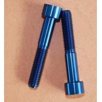 Quality TC4 corrosion resistant titanium alloy screw Bathyscaphs special for sale