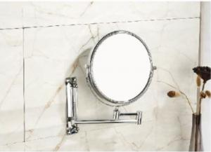 China good quality wall mount bathroom vanity concave Make Up Magnifying swivel mirror on sale