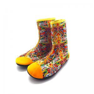 China Men Women Neoprene Water Boots 3mm 7MM Neoprene Sock Boots 34 - 46 Size on sale