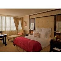 Buy cheap Guangzhou Custom Made JW Marriott Hotel Bedroom Furniture Sets from wholesalers