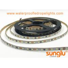 5MM thin 2835 Flexible LED Strip , CCT 6500K  White Flex LED ribbon 300D billboard for sale