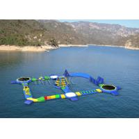 Wholesale Summer Water Sport Games Inflatable Water Park / Durable Water Park Resorts from china suppliers