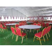 Wholesale Decorated Backyard  Garden Big Wedding Tents High Strength For 1000 People from china suppliers