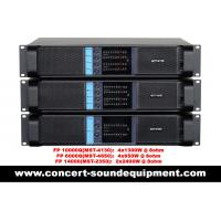 Wholesale High Stability 4x1300W Switching Power Amplifier FP 10000Q With Neutrik Connectors from china suppliers