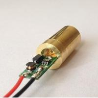Quality 520nm 10mw Green Dot Laser Diode Module For Laser Pointer ,Laser Stage Light for sale