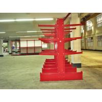 Buy cheap Blue / Orange Cantilever Racking System With Cold Rolling Steel from Wholesalers
