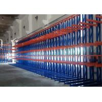 Wholesale High Density Cantilever Steel Rack , Selective Pallet Rack Storage Systems For Long Material from china suppliers