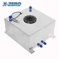 Wholesale Racing Parts 10 Gallon Aluminum Fuel Cell With 0-90 Ohm Fuel Level Sender from china suppliers
