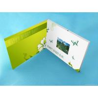 Quality Wedding Custom lcd video greeting card 7 Inch 16.7M brochure with video screen for sale