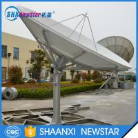 Buy cheap 3.7m professional ku band prime focus parabolic satellite tv antenna from wholesalers