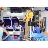 China professional standing up 9d vr standing roller coaster 9d cinema
