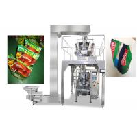 Wholesale Gusseted / Pillow Bag Packaging Machine For Food , Vffs Packing Machine from china suppliers