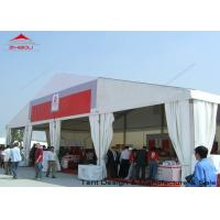 Wholesale White Aluminium Alloy Outdoor Canopy Tent 10X15m 10X20m DIN 4102 B1 from china suppliers