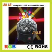 Wholesale RGB 15w 30 Degrees Led Disco Stage Lights Crystal Magic Ball 7 Colors for Nightclub from china suppliers