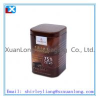 Wholesale promotion coffee tin box from china suppliers