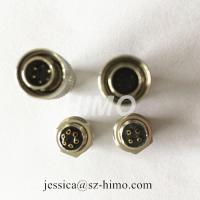 China electrical connector push pull circular 6pin Hirose cable assembly for digital camera for sale