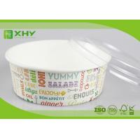 Wholesale No Leak 1000ML Paper Salad Bowls Food Grade FDA & FSC & BRC & ISO Certification from china suppliers