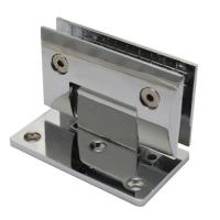 Wholesale Zinc alloy material wall mounted bathroom door hinge from china suppliers