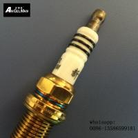 Wholesale NGK Spark Plug Iridium IK7R With Yellow Titanium , Iridium Coated Spark Plugs from china suppliers