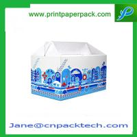 Custom Printed Color Candy Box Food Dairy Product Packaging Box Foldable Paper
