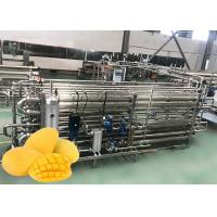 China Mango Concentration Paste Small Scale Pasteurizer Jam Processing Machine on sale