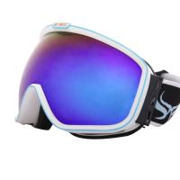 Wholesale Professional Blue Red Anti - fog Customized Ski Goggles With TPU Frame from china suppliers