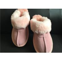 Wholesale AUSTRALIA kids Sheepskin Slippers Chestnut Winter Warm Indoor Shoes from china suppliers
