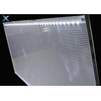Wholesale PMMA Acrylic LGP LED Panel , Clear Acrylic Light Panel For Public Places from china suppliers