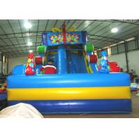China Top inflatable high gift boxes candy colourful inflatable dry standard slide on sale for sale