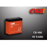 Wholesale 1.12KG Sealed Lead Acid Battery 4V 9Ah CB490 Series ABS Plastic V0 Battery from china suppliers
