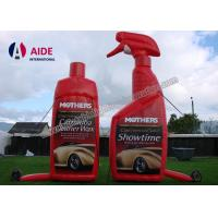 Wholesale Red Color Realistic Shape Inflatable Promotional Products Bottle Food SGS from china suppliers
