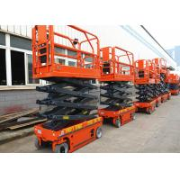 China Electric Driven Mobile Hydraulic Scissor Lift Tilt Protection System on sale